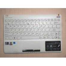 Клавиатура для ноутбука ASUS Eee PC 1025CE 1060 белая ТОПКЕЙС белый ORIGINAL