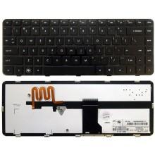 Клавиатура для ноутбука HP Pavilion dm4 dm4-1000 dv5-2000 dv5-2100 черная с подсветкой