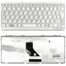 Клавиатура для ноутбука Toshiba mini NB200 NB300 NB305 серебристая