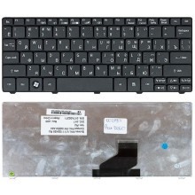 Клавиатура для ноутбука Acer Aspire One 521 532H AO532H D255 D260 D270 NAV50 PAV80 черная
