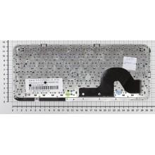 Клавиатура для ноутбука HP Pavilion dm3 dm3-1000 черная с бронзовой рамкой