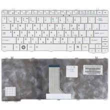 Клавиатура для ноутбука Toshiba Portege M900 Satellite U500 U505 белая