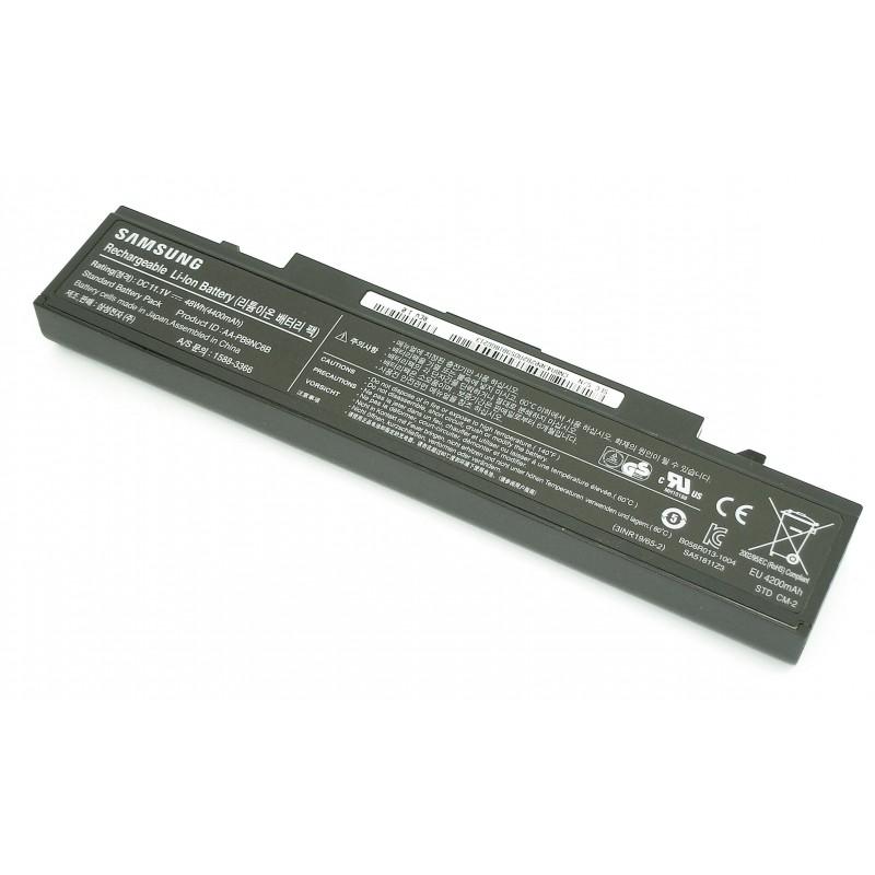 Аккумуляторная батарея для ноутбука Samsung R420 R510 R580 черная 48Wh ORIGINAL