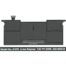 Аккумуляторная батарея A1375 для ноутбука Apple MacBook Air 5000 mAh