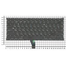 Клавиатура для ноутбука Apple A1369 плоский ENTER без подсветки 2010+