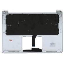 Клавиатура для ноутбука Apple A1369 2011+ черная с подсветкой плоский ENTER топ-панель