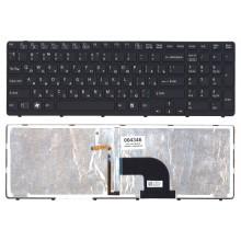 Клавиатура для ноутбука Sony Vaio  SVE15  черная с подсветкой