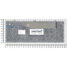 Клавиатура для ноутбука MSI U160 L1350 U135 белая рамка белая