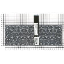 Клавиатура для ноутбука Asus  черная без рамки (6607720)               0KN0-MF1UI13 0KNB0-4620UI00