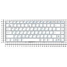 Клавиатура для ноутбука Asus 1215 1225c 1225b белая