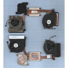 Система охлаждения для ноутбука HP Envy 14 14T в сборе