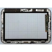 Сенсорное стекло (тачскрин) Lenovo IdeaPad K1 54.20014.104 с рамкой