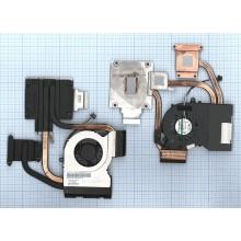 Система охлаждения для ноутбука HP DV7-6000  AMD в сборе