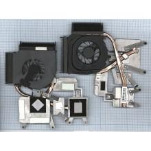 Система охлаждения для ноутбука HP DV6 DV6-1000  AMD в сборе