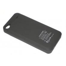 Аккумулятор/чехол для Apple iPhone 4/4s 2300 mAh черный