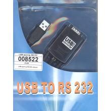 USB адаптер RS 232 черный