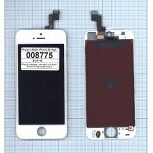 Модуль (матрица + тачскрин) Apple iPhone 5S белый