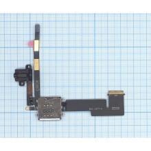 Шлейф аудио разъема с коннектором Sim карты для Apple iPad 2