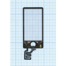 Сенсорное стекло (тачскрин) Apple iPod nano 7 черный