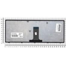 Клавиатура для ноутбука Lenovo Flex 14 черная с серой рамкой