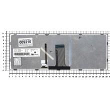 Клавиатура для ноутбука Lenovo Flex 14 G40-30 G40-70 черная с черной рамкой с подсветкой