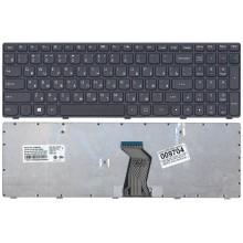 Клавиатура для ноутбука Lenovo G500 G505 G505A G510 G700 G700A G710 G500AM G7 черная с черной рамкой