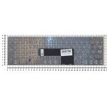 Клавиатура для ноутбука Sony FIT 15 SVF15 серебристая с подсветкой