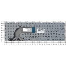 Клавиатура для ноутбука HP Pavilion 15 черная без рамки