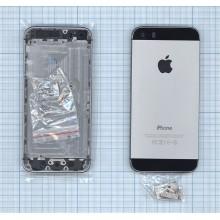 Задняя крышка (корпус) для Apple IPhone 5S серая