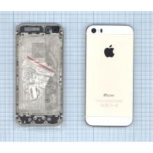 Задняя крышка (корпус) для Apple IPhone 5S золото