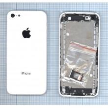 Задняя крышка (корпус) для Apple IPhone 5C белая