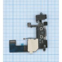 Шлейф с разъемом питания (Dock Connector) для Apple IPhone 5C черный