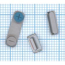 Комплект боковых кнопок для Apple IPhone 5S серый