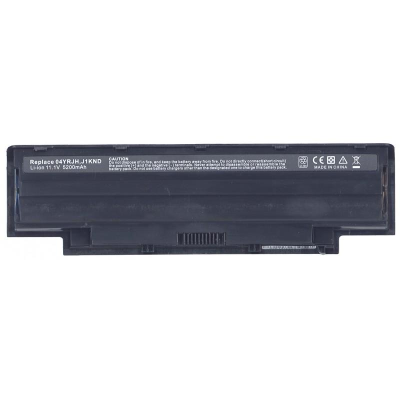 Аккумуляторная батарея 04YRJH для ноутбука Dell Inspiron N5110 N4110 N5010R 11.1V 5200mAh OEM черный
