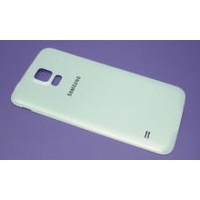 Задняя крышка аккумулятора Samsung Galaxy S5 белая