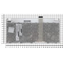 Клавиатура для ноутбука Asus Eee 1015 x101 белая с белой рамкой