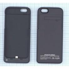 Аккумулятор/чехол для Apple iPhone 6 4000 mAh черный