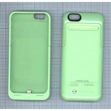 Аккумулятор/чехол для Apple iPhone 6 3500 mAh зеленый