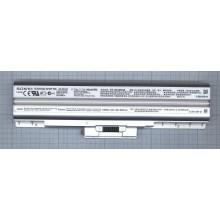 Аккумуляторная батарея VGP-BPS13 для ноутбука Sony Vaio VGN-AW, CS, FW 4400mAh серебристая ORIGINAL
