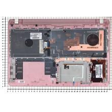 Клавиатура для ноутбука Sony FIT 15 SVF15 розовая топ-панель