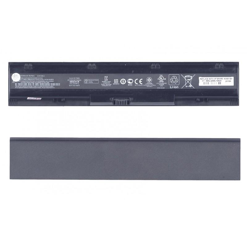 Аккумуляторная батарея HSTNN-IB2S для ноутбука HP ProBook 4730s 4740s 14,4V 73Wh ORIGINAL черная
