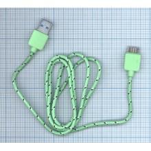 Армированный дата кабель USB-microUSB 3.0 , длина 0.9 м