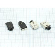 Разъем Audio Dock Connector 6 pin №38 Lenovo G450 G455