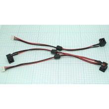 Разъем для ноутбука HY-TO002 TOSHIBA SATELLITE A105 A135 с кабелем