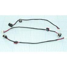 Разъем для ноутбука HY-LE007 LENOVO Ideapad G430 G450 G460 G550 G560 с кабелем 19,5 cm