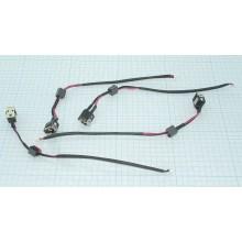 Разъем для ноутбука HY-DE007 DELL INSPIRON MINI 10 11 с кабелем 16 см