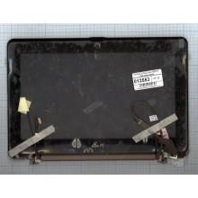 Крышка в сборе для ноутбука Asus EEE PC 1008 коричневая