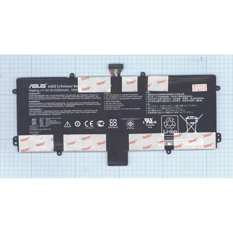 Аккумуляторная батарея C21-TF201XD для Asus TF201 7.4V 16Wh 2260mAh ORIGINAL
