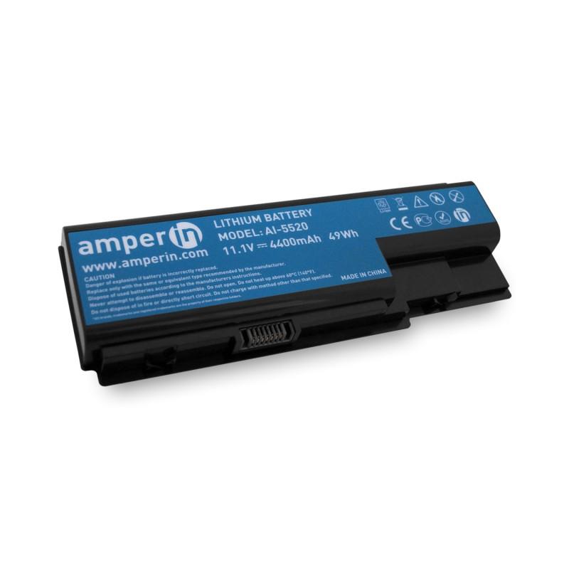 Аккумуляторная батарея AI-5520 для ноутбука Acer Aspire 5520, 5920, 7520 11.1v 4400mah Amperin