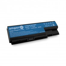 Аккумуляторная батарея AI-5220 для ноутбука Acer Aspire 5220 14.8V 4400mAh (65Wh) Amperin